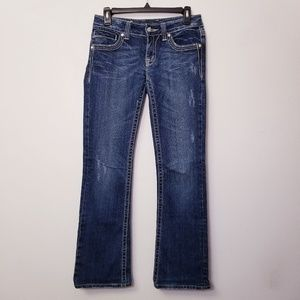 Miss Me Size 27 Bootcut Bedazzled Sparkly Jeans
